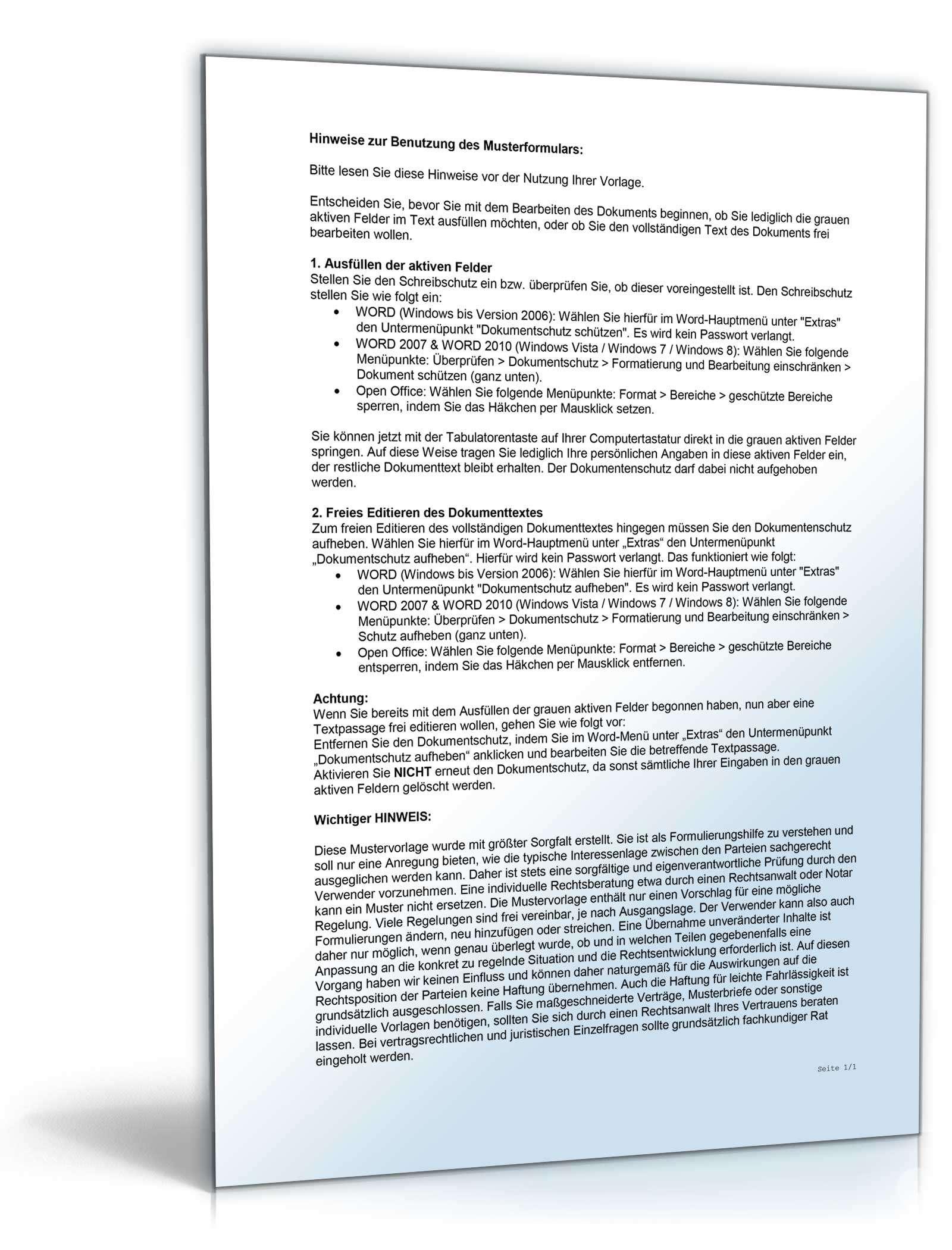 vorlage testament als widerrufstestament mit vordruck. testament1, Einladungen