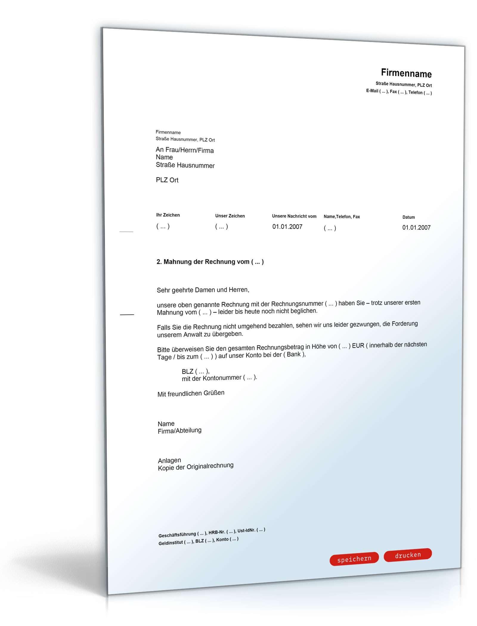 Vorlage Muster Kundigung Darlehen Unternehmensrecht 4