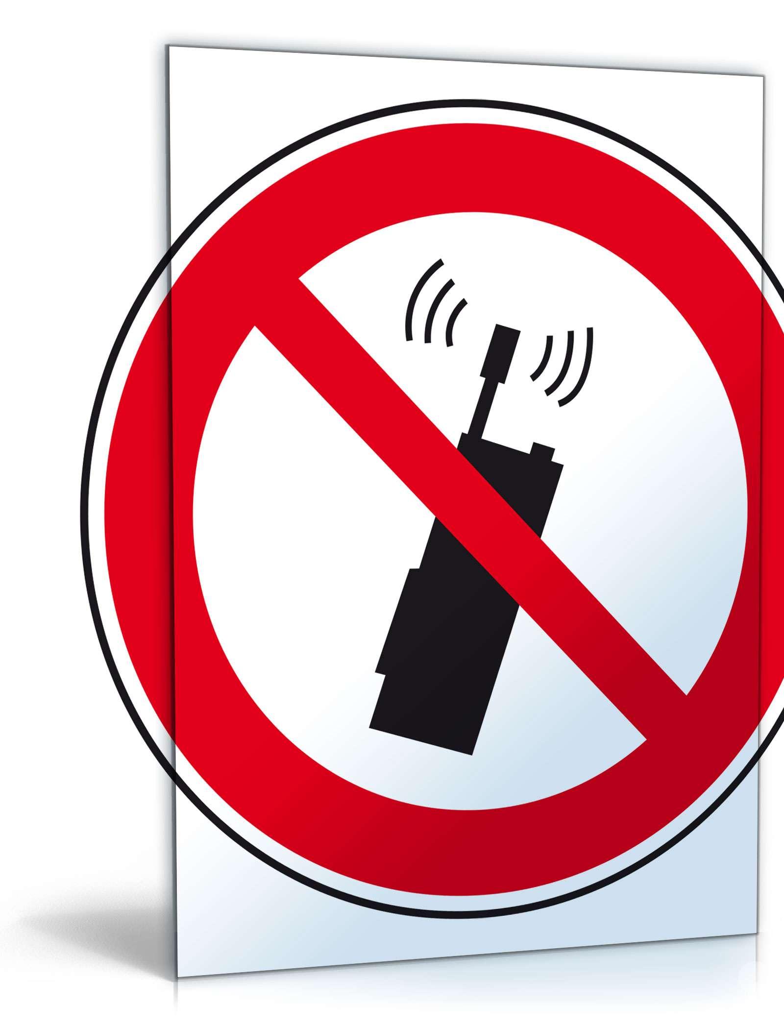 """Schild """"Handy-Verbot"""" Dokument zum Download"""