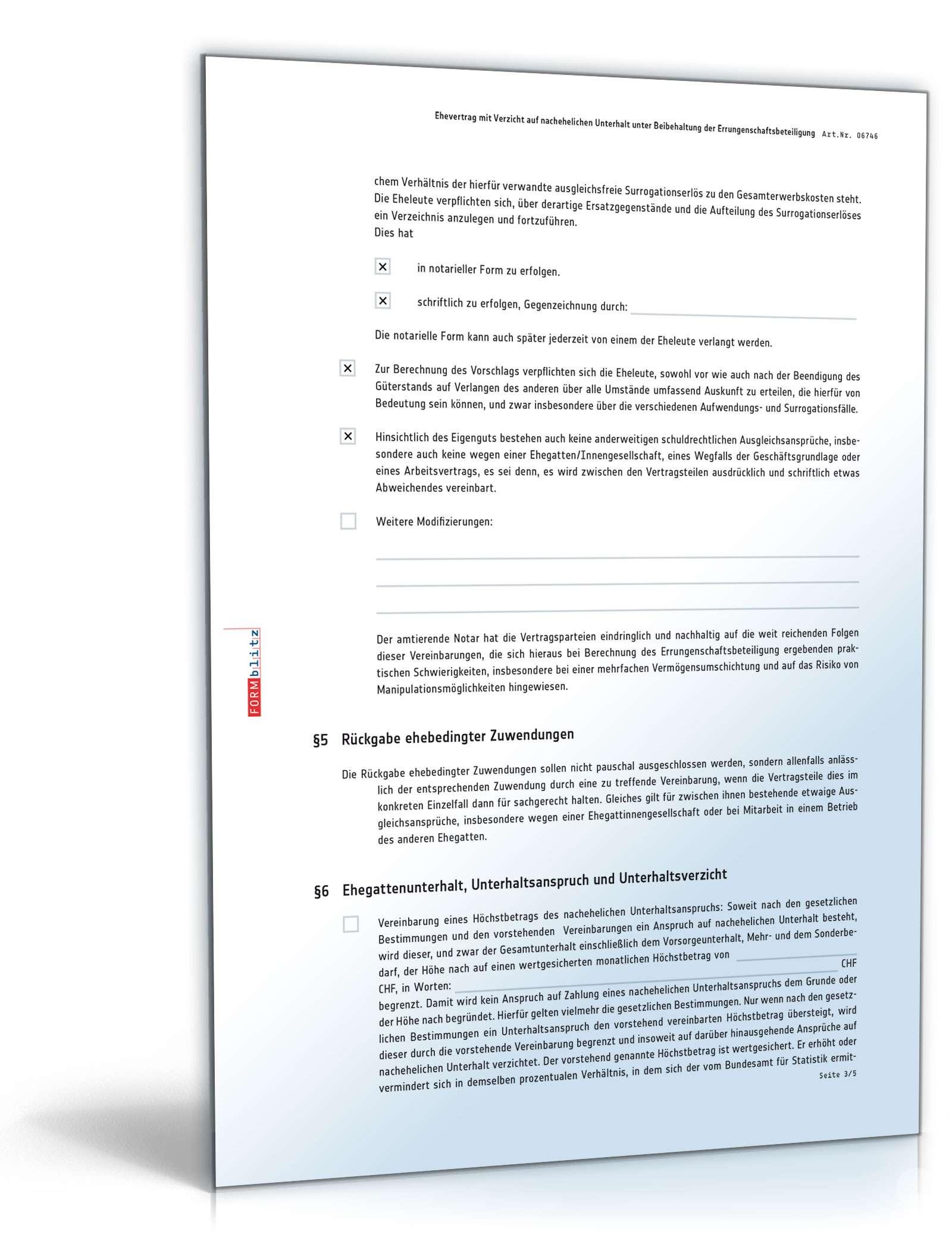 Ausgezeichnet Verzicht Vorlage Wort Bilder - Beispielzusammenfassung ...