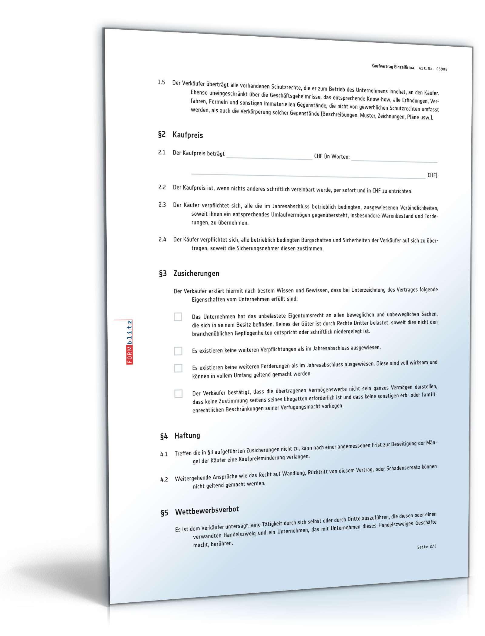 Kaufvertrag Uber Ein Unternehmen Asset Deal Muster Vorlage Zum Download
