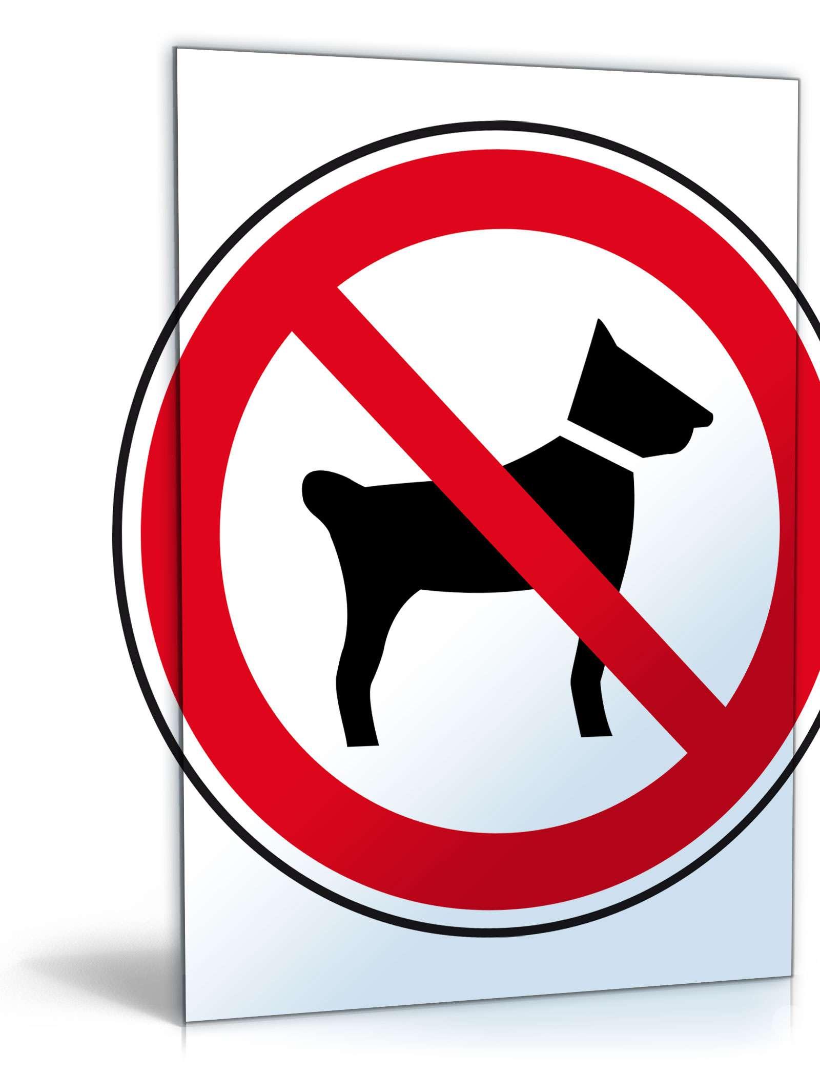 "Schild ""Hundeverbot"" Dokument zum Download"