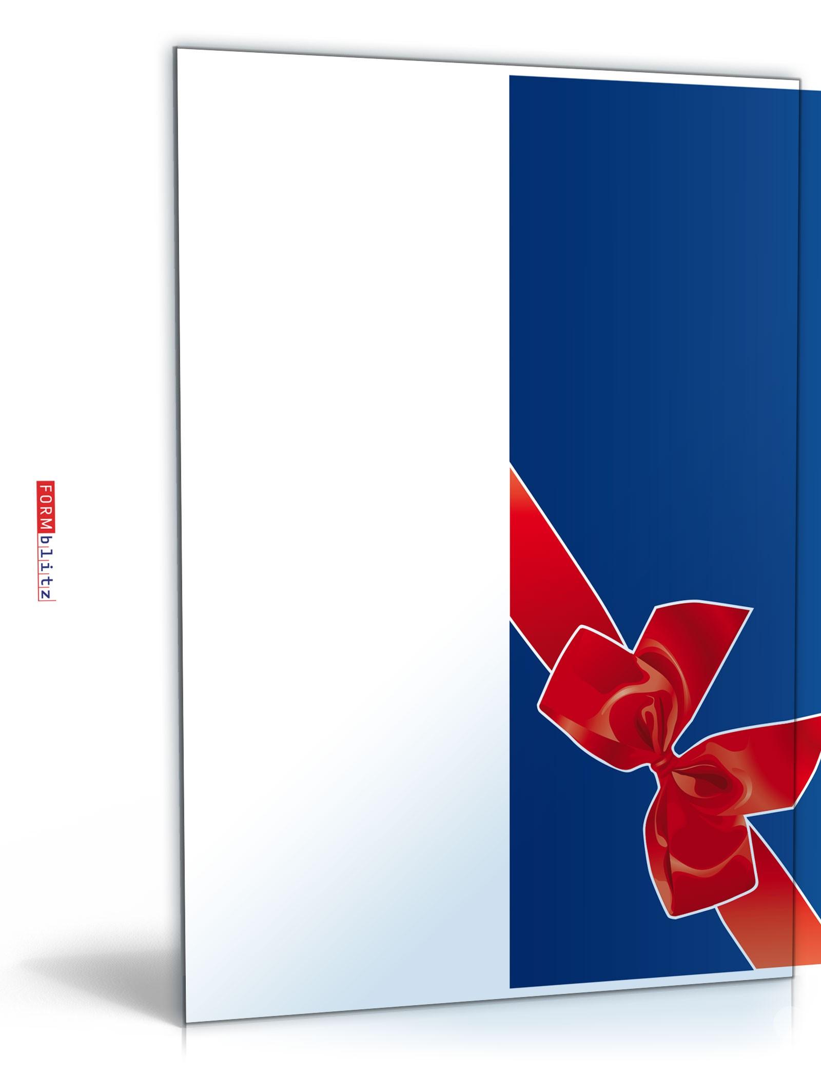 Weihnachtskarte Dokument zum Download
